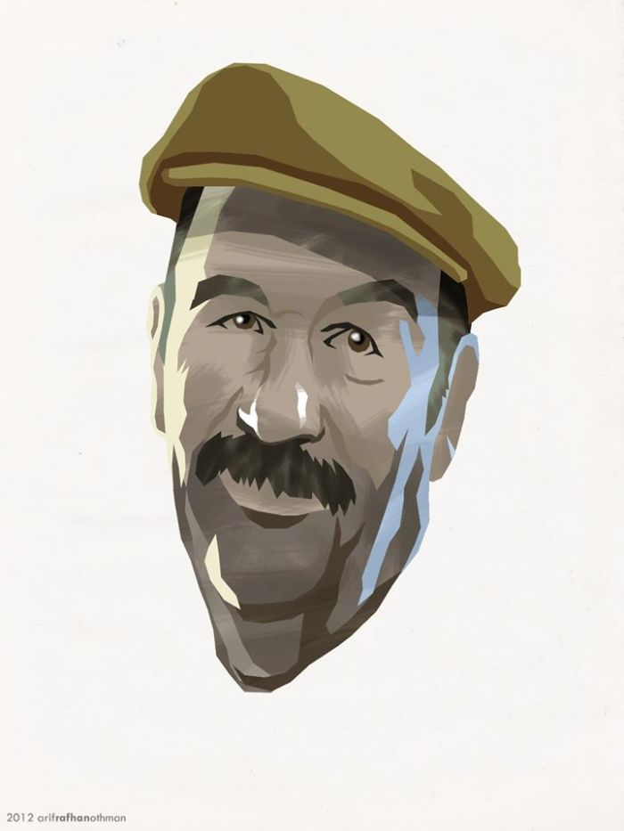 Italian Dad (Drawing)